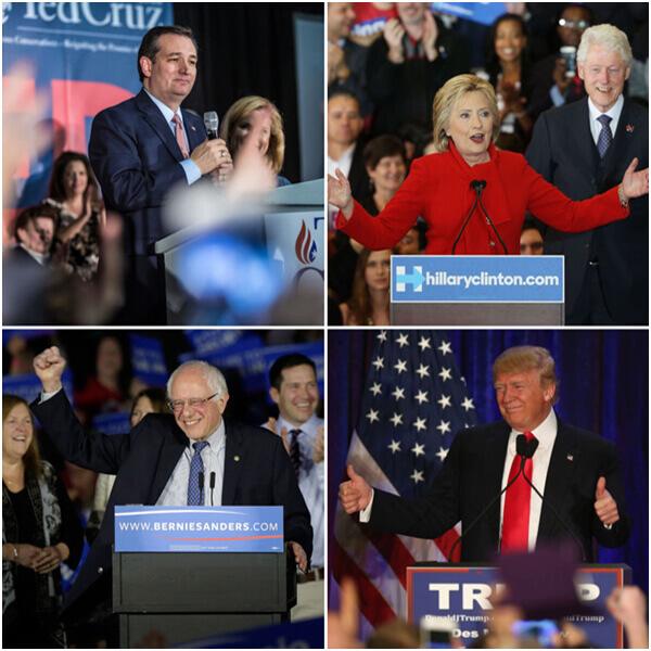 Cruz_Clinton_Trump_Sanders_Politics Is Branding