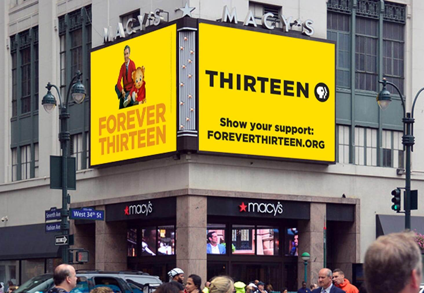WNET Thirteen. Some people stay Thirteen forever