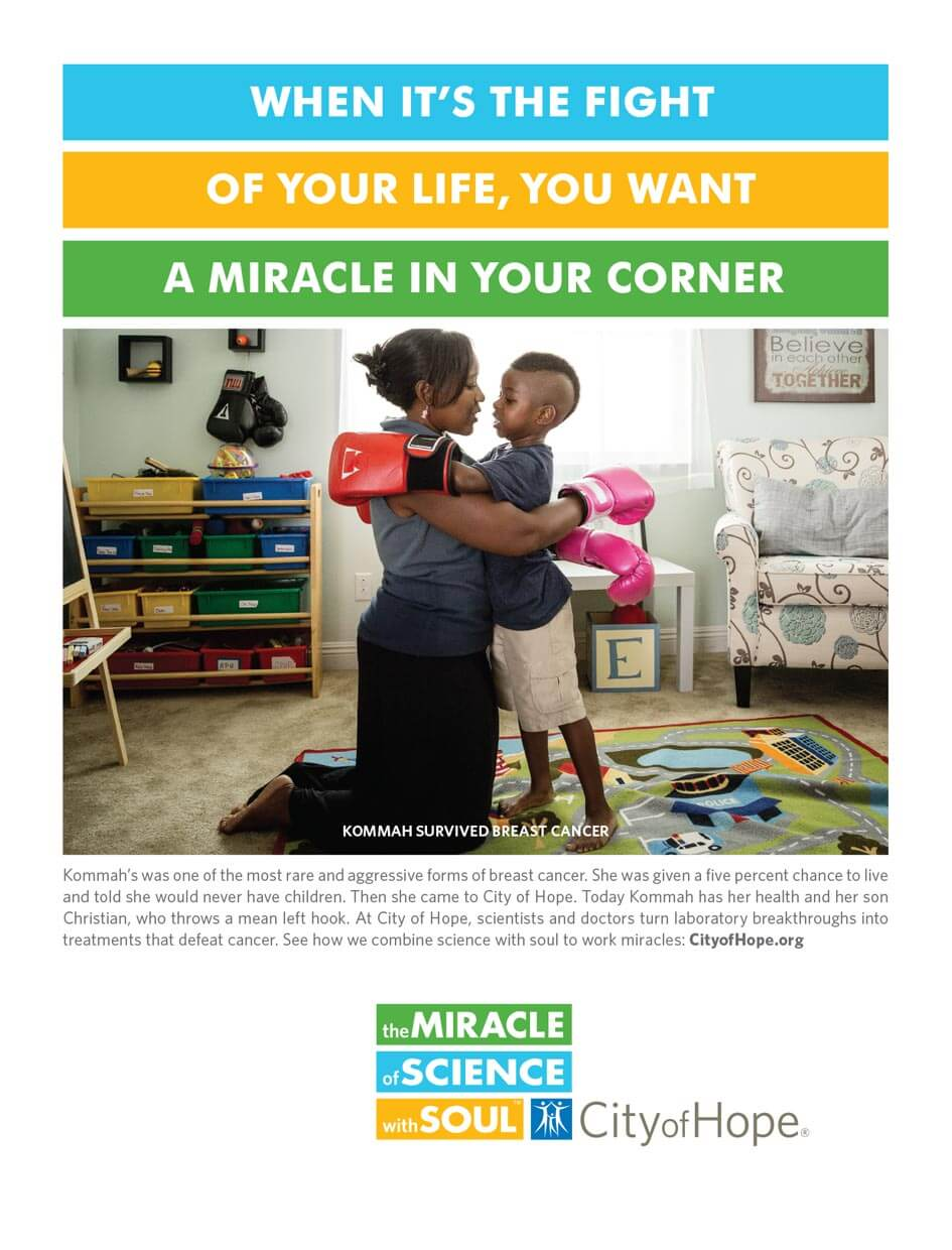 City of Hope. The miracle of science with soul