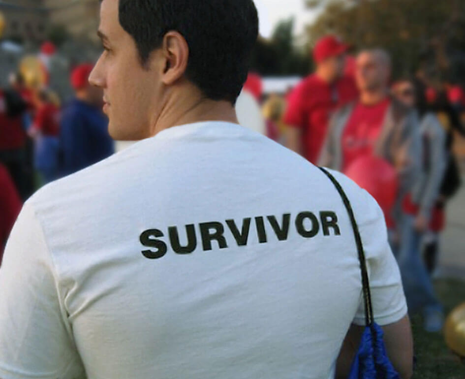A social brand of survivors, supporters and hope