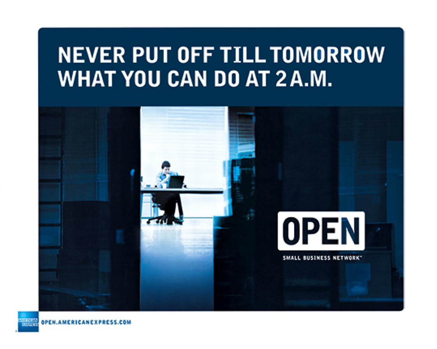 American Express. Open. Small Business Network.