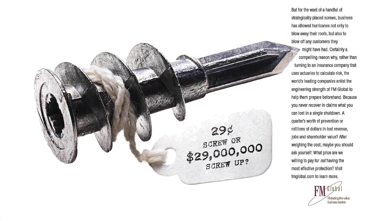 FMGlobal. $45 bung. Or $45,000,000 bungle?
